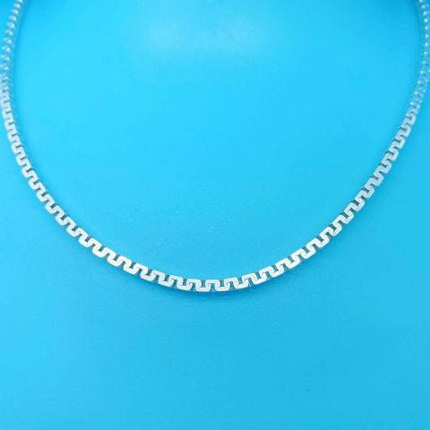 Genuine 925 Sterling Silver Hallmarked California Box Chain Avail in Dif Lengths